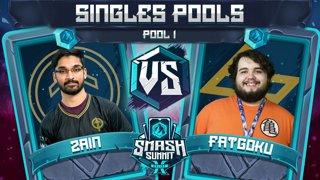 Zain vs FatGoku - Singles Pools: Pool 1 - Smash Summit 10 | Marth vs Fox