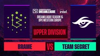 Dota2 - Team Secret vs. Brame - Game 2 - DreamLeague S15 DPC WEU - Upper Division