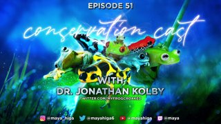 CONSERVATION CAST ep. 51 with Dr. Kolby for The Honduras Amphibian Rescue & Conservation Center