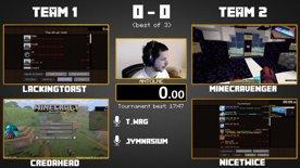 ADL - Round 2 - NiceTwice & MinecrAvenger vs LackingToast & CredAhead