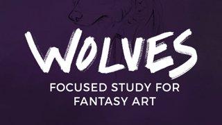 Highlight: Live Art Study Sunday | Sketchbook Prompt: WOLVES