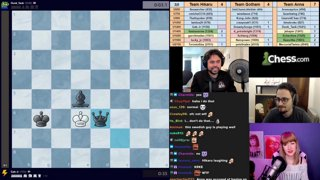 Highlight: Sub battle vs Anna_Chess and Gothamchess Part 2