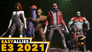 Guardians of the Galaxy Reveal - Easy Allies Reactions