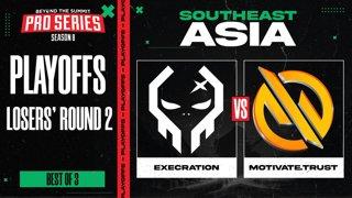 Execration vs MG.Trust Game 1 - BTS Pro Series 8 SEA: Playoffs w/ Ares & Danog