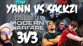 TEAM YANNOU VS TEAM SACKZI 🔴 3V3 Escarmouche 🔴
