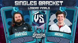 Mang0 vs iBDW - Singles Bracket: Losers' Finals - Smash Summit 10 | Falco vs Fox