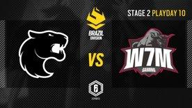 FURIA vs. W7M - LATAM League 2021   Stage 2 - Playday 10   #BR6