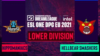 Dota2 - Hippomaniacs vs. Hellbear Smashers - Game 2 - DreamLeague Season 14 DPC: EU - Lower Division