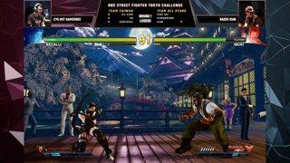 ONE STREET FIGHTER Tokyo Challenge