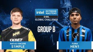 CS:GO - FURIA vs. Natus Vincere [Nuke] Map 2 - IEM Global Challenge 2020 - Group B