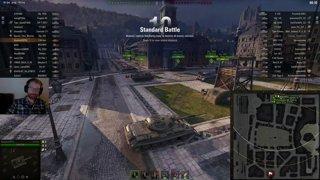 T-54 ltwt. - Himmelsdorf, tier X. Riktigt kul strid