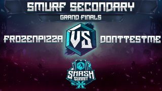FrozenPizza vs DontTestMe - Smurf Secondary: GRAND FINALS - Smash Summit 10 | Ice Climbers vs Roy
