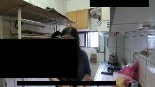 精華片段:【夜雨】週五廚娘台!提拉米蘇、雪Q餅 <3