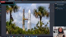 In evidenza: Lancio razzo Ariane 5 con 3 satelliti