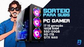 Clip: SORTEIO DO PC GAMER DE MARÇO