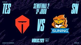 Mundial 2020: Semifinal 2 | Top Esports x Suning (3º Jogo)