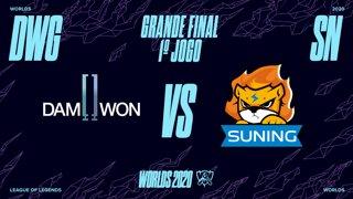 Mundial 2020: Grande Final | DAMWON Gaming x Suning (1º Jogo)