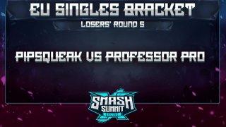Pipsqueak vs Professor Pro - EU Singles Bracket: Losers' Round 5 - Smash Summit 10 | Fox vs Fox