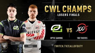 Optic Gaming vs 100 Thieves   CWL Champs 2019   Day 5