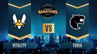 CS:GO - Vitality vs. FURIA [Vertigo] Map 1 - DreamHack Masters Spring 2021 - Group B