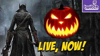 !charity Raising Money For St. Judes! Demon's Souls Trailer - Halloween Bloodborne & Alien Isolation (10-30)