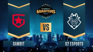 CS:GO - Gambit vs. G2 Esports [Mirage] Map 1 - DreamHack Masters Spring 2021- Group A