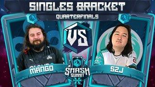 Mang0 vs S2J - Singles Bracket: Quarterfinals - Smash Summit 10 | Falco vs Captain Falcon