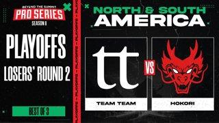 Team Team vs Hokori Game 3 - BTS Pro Series 8 AM: Playoffs w/ Kmart & ET