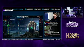 Twitch Rivals League of Legends Streamer Showdown