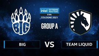 CS:GO - Team Liquid vs BIG [Nuke] Map 2 - IEM Cologne 2021 - Group A