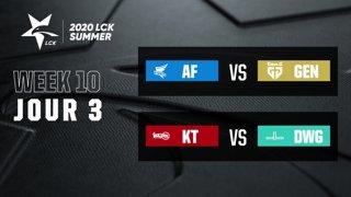 LCK Summer 2020 - W10D3