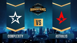 CS:GO - Astralis vs. Complexity [Inferno] Map 2 - DreamHack Masters Spring 2021- Group B