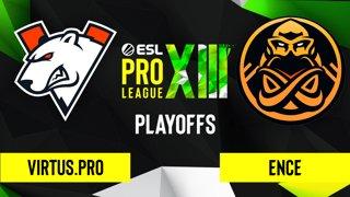 CS:GO - Virtus.pro vs. ENCE [Dust2] Map 3 - ESL Pro League Season 13 - Playoffs