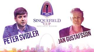 Sinquefield Cup, Round 6: Jan Gustafsson with guest Peter Svidler