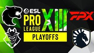 Full Broadcast: ESL Pro League Season 13 - Playoffs Day 21 - April 2, 2021