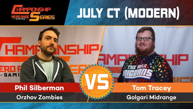 July Ct Round 3 Phil Silberman Orzhov Zombies V Tom Tracey Golgari Midrange Nrgseries En Twitch That they gave modern zombies this on top of carrion feeder to trigger it blows my mind. twitch