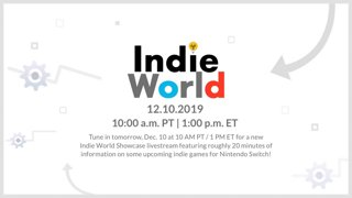 Nintendo Switch - Indie World Showcase - 12.10.2019