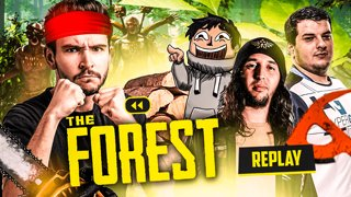 On est ici pour TABASSER ! (The Forest avec Jiraya, LowAn et MrBboy45) #2