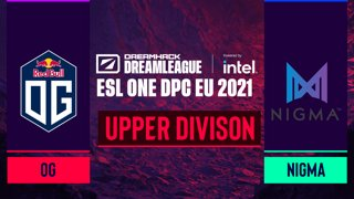 Dota2 - Team Nigma vs. OG - Game 2 - DreamLeague Season 14 DPC: EU - Upper Division