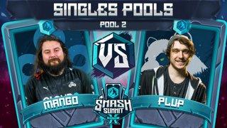 Mang0 vs Plup - Singles Pools: Pool 2 - Smash Summit 10 | Falco vs Fox