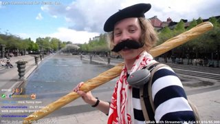 A French man takes you on an adventure IRL SWEDEN | 10bits TTS | Toonations Mediashare | Blerp