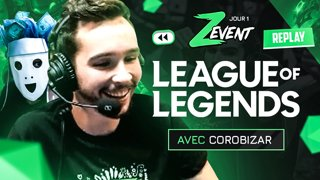 Retour de la COROMINGO pour le #ZEVENT2020 ! (League of Legends)