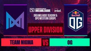 Dota2 - OG vs. Team Nigma - Game 2 - DreamLeague S15 DPC WEU - Upper Division