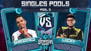 Shroomed vs Lucky - Singles Pools: Pool 3 - Smash Summit 10 | Sheik vs Fox