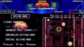 Top 32. kekumanshoyu vs hotarubi. Super Metroid 100% Tournament 2020.