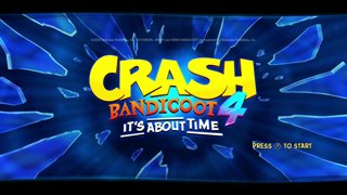 Crash Bandicoot 4 stream (PS4 finally setup)