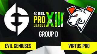 CS:GO - Virtus.pro vs. Evil Geniuses [Vertigo] Map 2 - ESL Pro League Season 13 - Group D