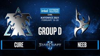 SC2 - Neeb vs. Cure - IEM Katowice 2021 - Group D