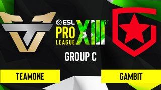 CS:GO - TeamOne vs. Gambit [Inferno] Map 1 - ESL Pro League Season 13 - Group C