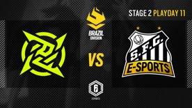 Ninjas in Pyjamas vs. Santos - LATAM League 2021   Stage 2 - Playday 11   #BR6
